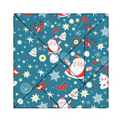 Christmas Stockings Vector Pattern Acrylic Tangram Puzzle (6  X 6 )