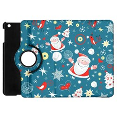 Christmas Stockings Vector Pattern Apple Ipad Mini Flip 360 Case