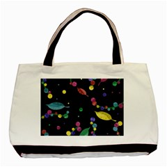 Space Garden Basic Tote Bag (two Sides)