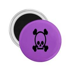 Cartoonskull Danger 2 25  Magnets