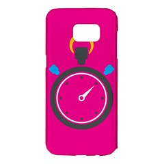 Alarm Clock Houre Samsung Galaxy S7 Edge Hardshell Case