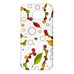 Adorable floral design Samsung Galaxy S7 Edge Hardshell Case