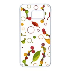 Adorable floral design Samsung Galaxy S7 White Seamless Case