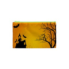 Day Halloween Night Cosmetic Bag (xs)