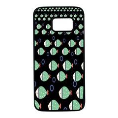 Fish Samsung Galaxy S7 Black Seamless Case