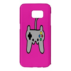 Game Pink Samsung Galaxy S7 Edge Hardshell Case
