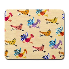 Chicken Large Mousepads