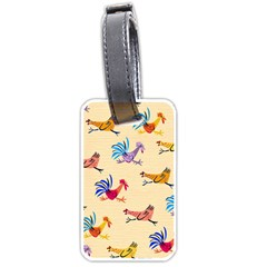 Chicken Luggage Tags (two Sides)