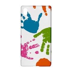 Hand Sony Xperia Z3+