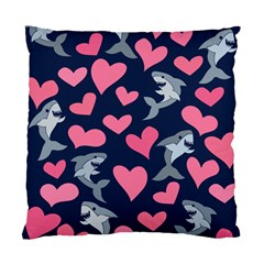 Shark Lovers Standard Cushion Case (two Sides)