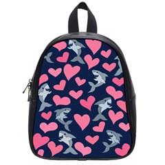 Shark Lovers School Bags (small)