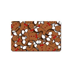 Christmas Candy Seamless Pattern Vectors Magnet (name Card)