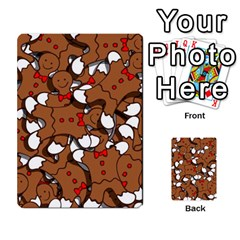 Christmas Candy Seamless Pattern Vectors Multi-purpose Cards (Rectangle)