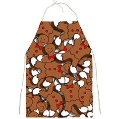 Christmas Candy Seamless Pattern Vectors Full Print Aprons