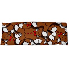 Christmas Candy Seamless Pattern Vectors Body Pillow Case Dakimakura (two Sides)