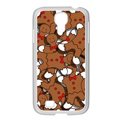 Christmas Candy Seamless Pattern Vectors Samsung Galaxy S4 I9500/ I9505 Case (white)