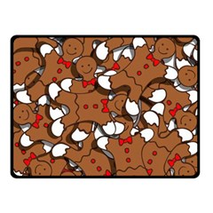 Christmas Candy Seamless Pattern Vectors Double Sided Fleece Blanket (small)