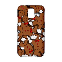 Christmas Candy Seamless Pattern Vectors Samsung Galaxy S5 Hardshell Case