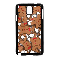 Christmas Candy Seamless Pattern Vectors Samsung Galaxy Note 3 Neo Hardshell Case (black)