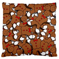 Christmas Candy Seamless Pattern Vectors Standard Flano Cushion Case (one Side)