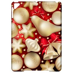Christmas Baubles Seamless Pattern Vector Material Apple Ipad Pro 9 7   Hardshell Case