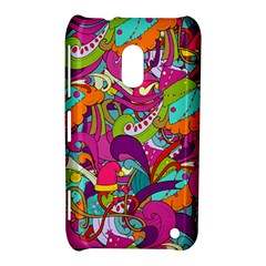 Christmas Elements With Doodle Seamless Pattern Vector Nokia Lumia 620
