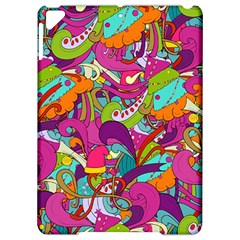 Christmas Elements With Doodle Seamless Pattern Vector Apple iPad Pro 9.7   Hardshell Case