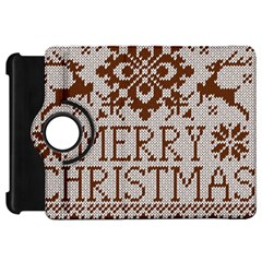 Christmas Elements With Knitted Pattern Vector Kindle Fire Hd 7
