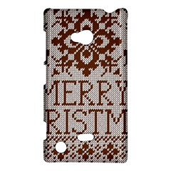 Christmas Elements With Knitted Pattern Vector Nokia Lumia 720