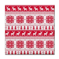 Christmas Patterns Face Towel