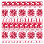 Christmas Patterns Small Memo Pads 3.75 x3.75  Memopad