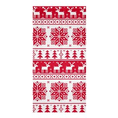 Christmas Patterns Shower Curtain 36  X 72  (stall)