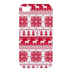 Christmas Patterns Apple Iphone 4/4s Hardshell Case