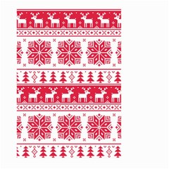 Christmas Patterns Large Garden Flag (two Sides)