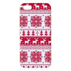 Christmas Patterns Iphone 5s/ Se Premium Hardshell Case