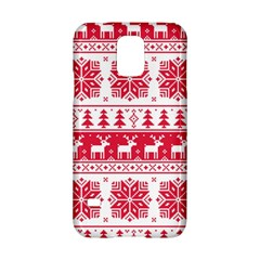 Christmas Patterns Samsung Galaxy S5 Hardshell Case