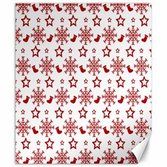 Christmas Pattern  Canvas 20  X 24