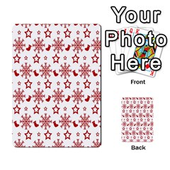 Christmas Pattern  Multi-purpose Cards (Rectangle)