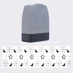 Christmas Pattern  Name Stamps