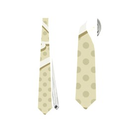 Christmas Tree Stars Pattern Neckties (Two Side)