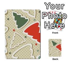 Christmas Tree Stars Pattern Multi Purpose Cards (rectangle)