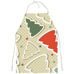Christmas Tree Stars Pattern Full Print Aprons