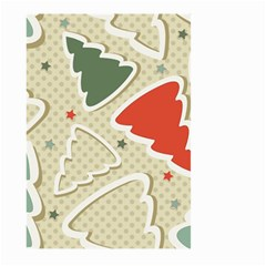 Christmas Tree Stars Pattern Large Garden Flag (two Sides)