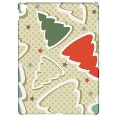 Christmas Tree Stars Pattern Apple Ipad Pro 12 9   Hardshell Case