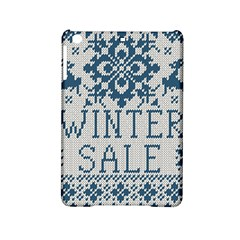 Christmas Elements With Knitted Pattern Vector   Ipad Mini 2 Hardshell Cases