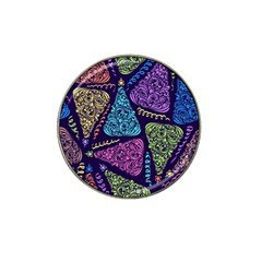 Christmas Patterns Hat Clip Ball Marker (4 Pack)