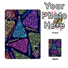 Christmas Patterns Playing Cards 54 Designs