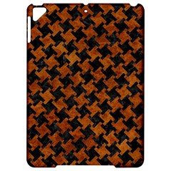 Houndstooth2 Black Marble & Brown Marble Apple Ipad Pro 9 7   Hardshell Case