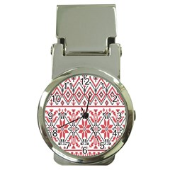 Consecutive Knitting Patterns Vector Background Money Clip Watches
