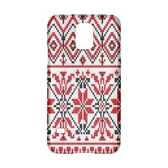Consecutive Knitting Patterns Vector Background Samsung Galaxy S5 Hardshell Case